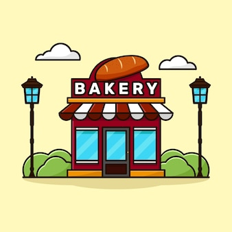 Illustrations de boulangerie