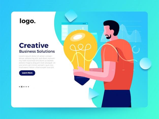 Illustrations de concept concept worker