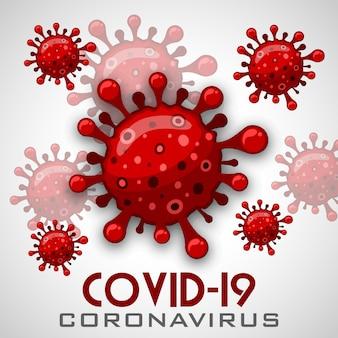 Illustrations concept maladie coronavirus covid-19