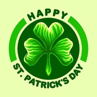 Illustrations du logo happy st patricks day