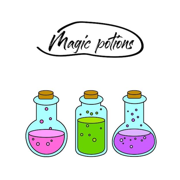Illustrations de potions magiques