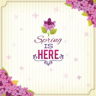 Illustrations de printemps