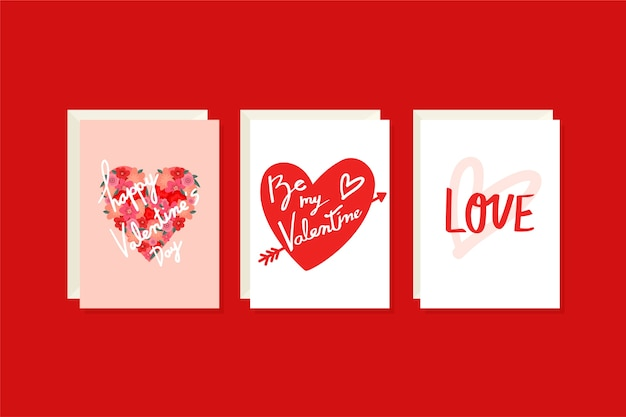 Illustrations de valentine
