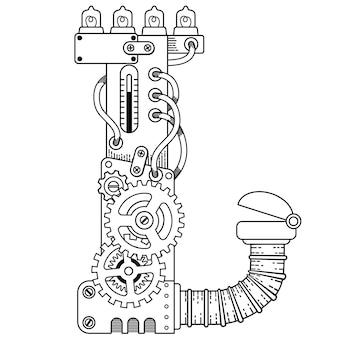 Illustratrion de livre de coloriage pour adultes