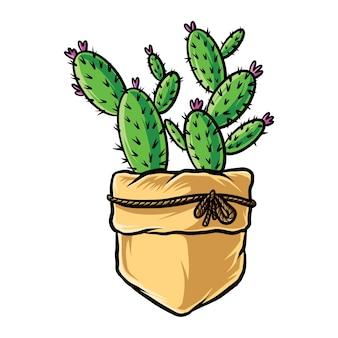 Illustrztion de cactus