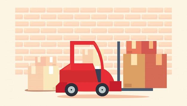 Ilustration liée à la livraison rapide