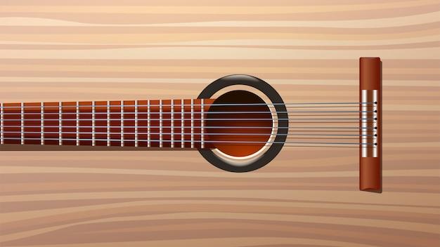 Image de dos de guitare