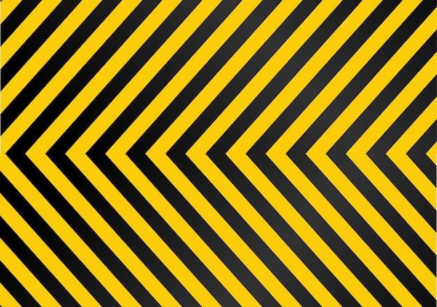 Image de fond, ligne jaune, noir. illustration vectorielle