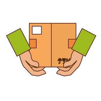 Image d'icône de boîte en carton