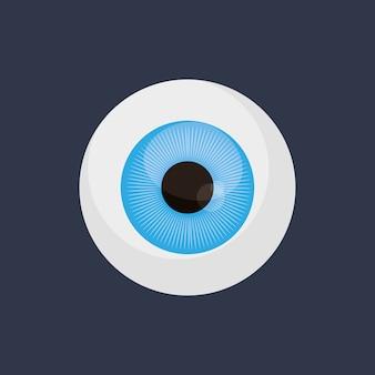 Image d'icône de globe oculaire