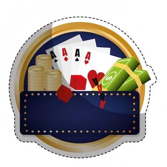 Image d'icône liée au casino