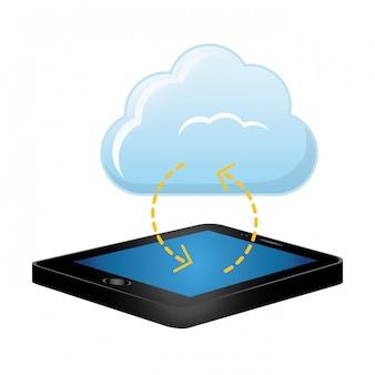 Image d'icône de stockage en nuage