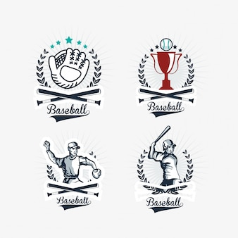 Image d'icônes liées au baseball