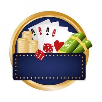 Image d'icônes liées au casino