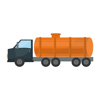 Image d'icônes liées à l'industrie du pétrole ou de l'essence