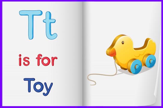 Une image d'un jouet dans un livre