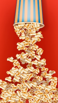 Image de pop-corn blast