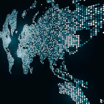 Image de la technologie du globe