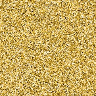 Image vectorielle de fond texturé de paillettes d'or