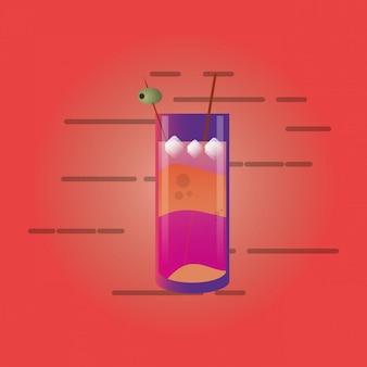 Image de verre de cocktail