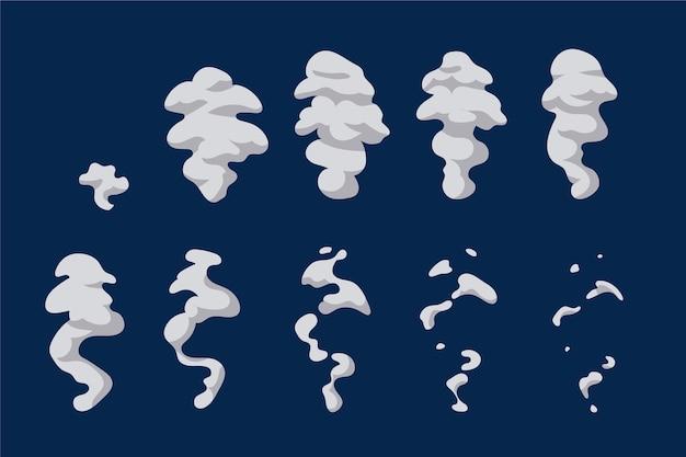 Images d'animation d'élément de dessin animé