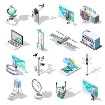 Immeuble de bureaux et appareils de prévisionnistes