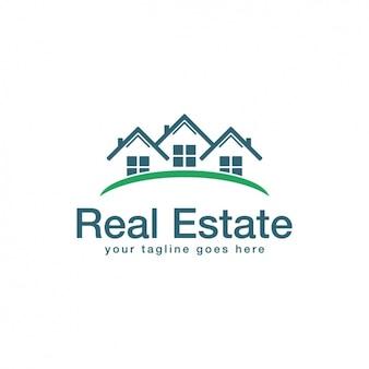 Immobilier logo modèle