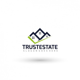 Immobilier Logo Template Vecteur gratuit