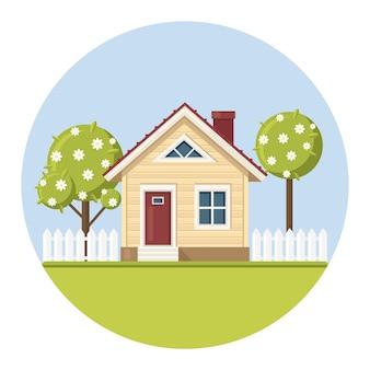 Immobilier et propriété dans le concept de banlieue