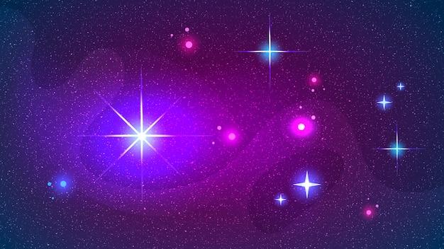 Une impression de constellation space galaxy pourrait être utilisée tapis de yoga zodiac star