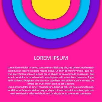 Impression de fond abstrait. illustration vectorielle futuriste moderne pour carte de conception, invitation à une fête d'été, papier peint de vacances, impression de sac d'événement, t-shirt, publicité d'atelier, etc.