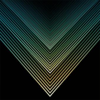 Impression de fond abstrait lignes géométriques colorées