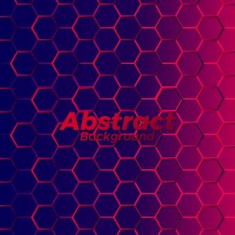 Impression de fond abstrait polygone