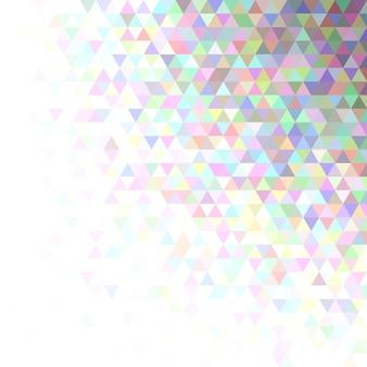 Impression de fond abstrait triangle