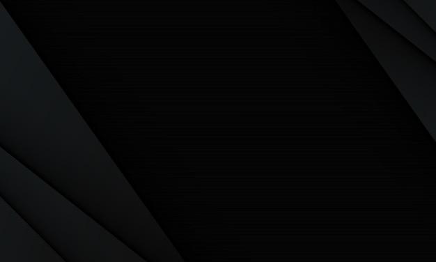 Impression de fond abstrait triangles géométriques noirs. design de luxe pour votre site web.