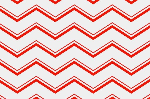 Impression de fond abstrait, vecteur de conception créative chevron rouge