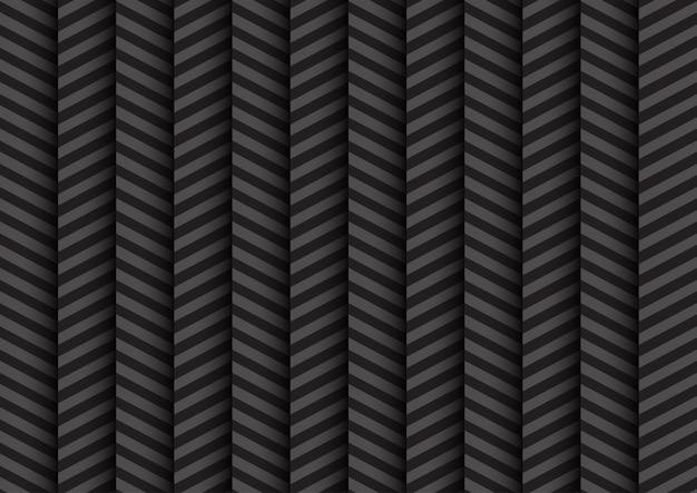 Impression de fond abstrait zig zag