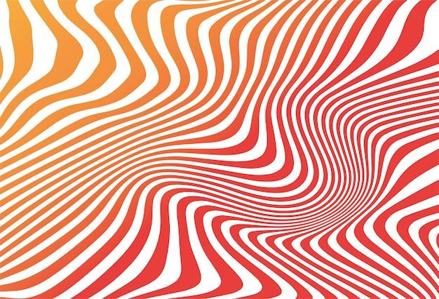 Impression de fond abstrait zigzag sans soudure coloré