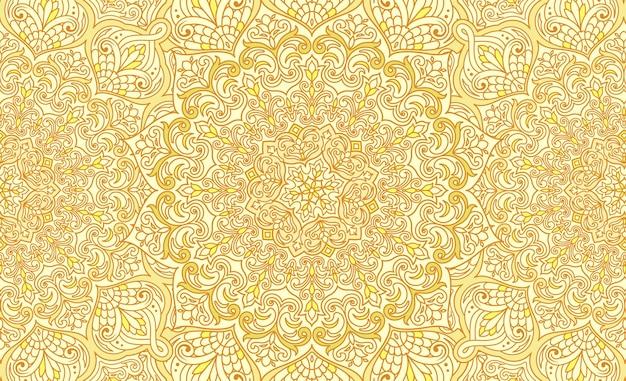 Impression de fond arabesque islamique