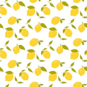 Impression de fond citron sans soudure