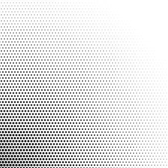 Impression de fond demi-teinte noir et blanc