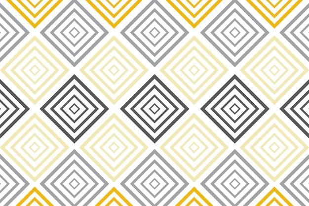 Impression de fond avec des éléments carrés géométriques