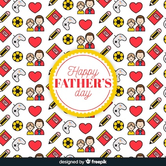 Impression de fond fête des pères