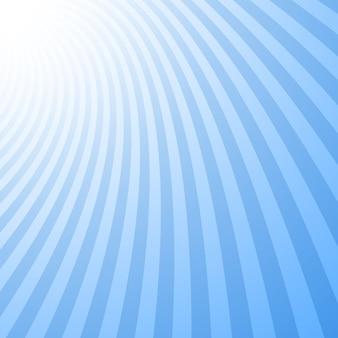 Impression de fond géométrique abstrait courbé
