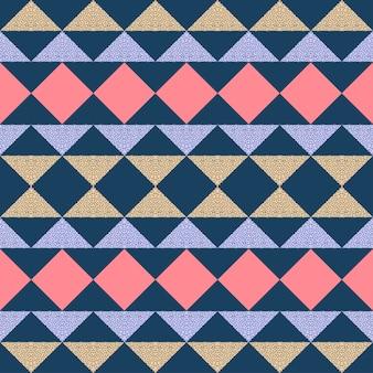 Impression de fond géométrique abstrait triangle sans soudure.