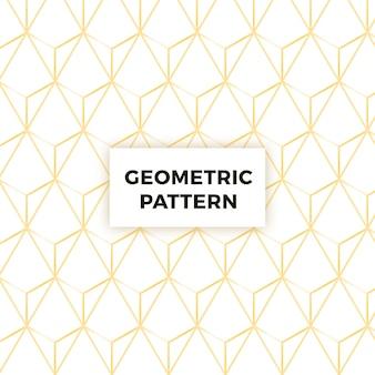 Impression de fond géométrique abstrait