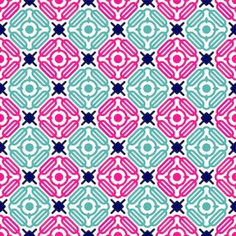 Impression de fond géométrique sans soudure