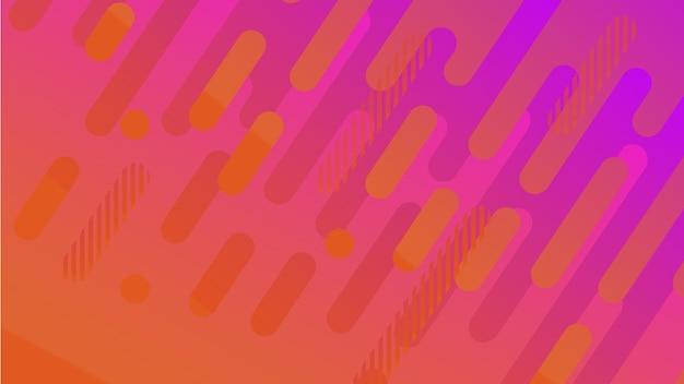 Impression de fond de ligne géométrique abstraite pour la conception de la couverture de la brochure d'entreprise vecteur bleu rose banne...