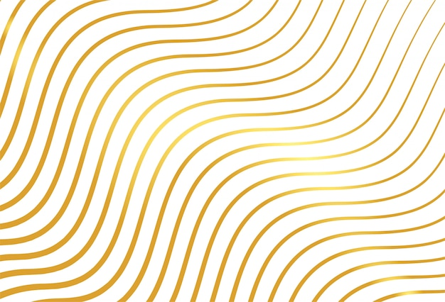 Impression de fond lignes dorées