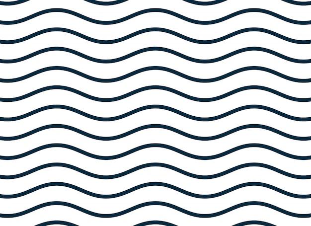 Impression de fond de lignes lisses ondulées